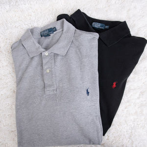 POLO BY RALPH LAUREN LOT 2XLT TALL SHIRTS